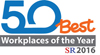 50 Best Workplaces of the Year SR 2016